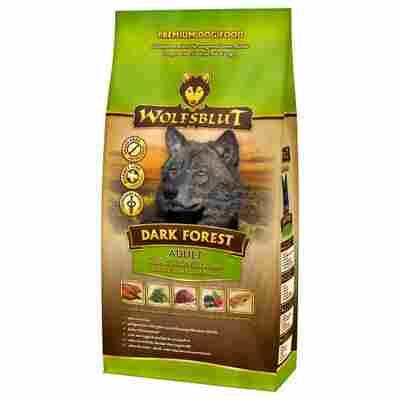 Hundetrockenfutter 'Dark Forest' Adult Wildfleisch 2000 g