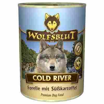 Hundenassfutter 'Cold River' Adult/Senior Forelle 395 g
