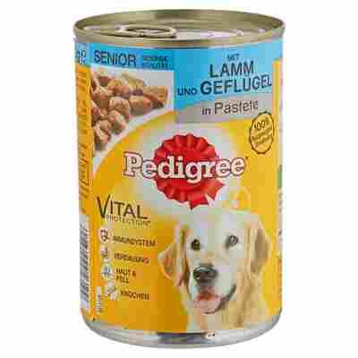 """Hundenassfutter """"Vital Protection"""" Senior Lamm/Geflügel 400 g"""