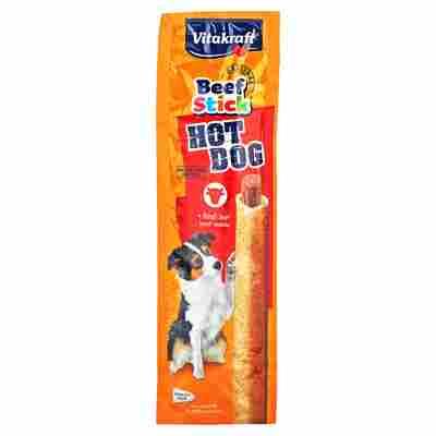 """Kausnack """"Beef Stick"""" Hot Dog mit Rind 30 g"""