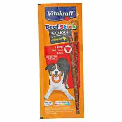 """Hundesnack """"Beef Stick"""" School mit Rind 10 Stück"""