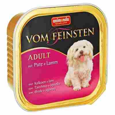 """Hundenassfutter """"Vom Feinsten"""" Adult mit Pute/Lamm 150 g"""