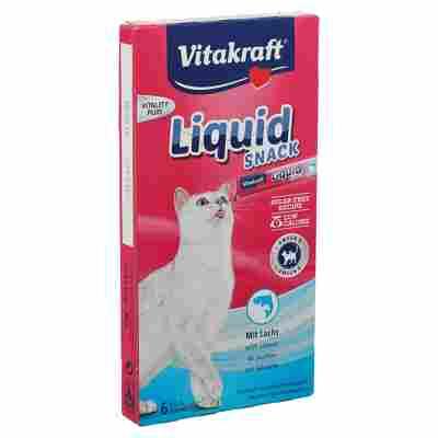 "Katzensnack ""Liquid-Snack"" Lachs 6x 15 g"