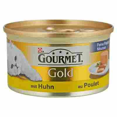 "Katzennassfutter ""Gourmet Gold"" Feine Pastete Huhn 85 g"