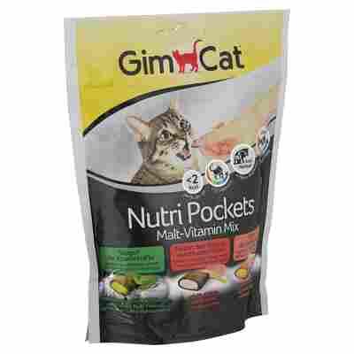 """Katzensnack """"Nutri Pockets"""" Malt-Vitamin-Mix 150 g"""