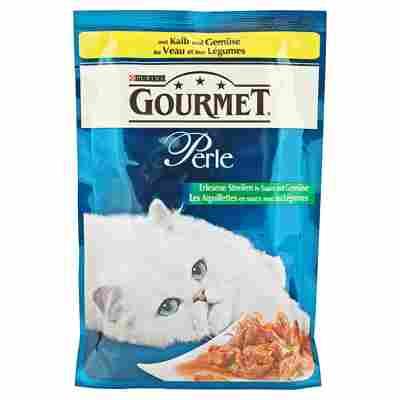 """Katzennassfutter """"Gourmet Perle"""" Kalb & Gemüse 85 g"""