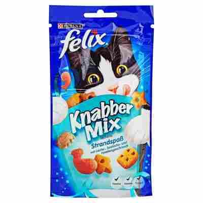 """Katzensnack """"Knabbermix"""" Strandspaß 60 g"""