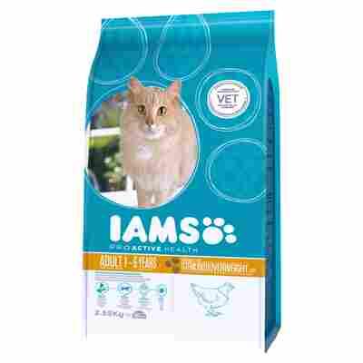 """Katzentrockenfutter """"Adult"""" übergewichtige und sterilisierte Katzen Huhn 2,55 kg"""