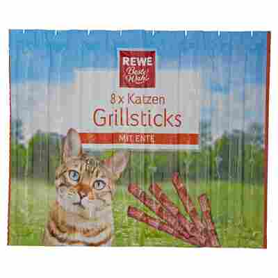 Katzensnack Grillsticks Ente 8 Stück