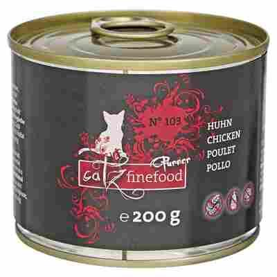 "Katzenfutter Feinkost ""Purrrr"" No. 103 mit Huhn 200 g"