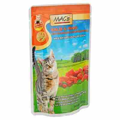 Katzennassfutter Kalb/Rind 100 g