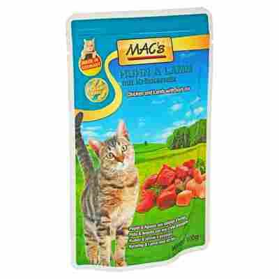 Katzennassfutter Huhn/Lamm 100 g