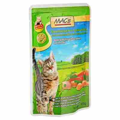Katzennassfutter Kaninchen/Geflügel 100 g