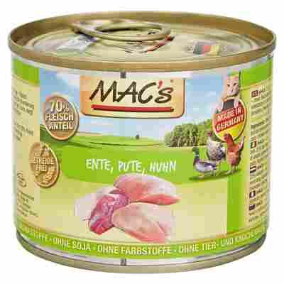 Katzennassfutter 200 g Ente/Pute/Huhn