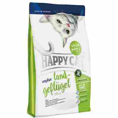 Katzentrockenfutter 'Sensitive' Land-Geflügel 1,4 kg
