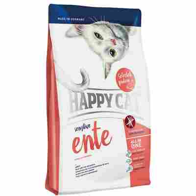 Katzentrockenfutter 'Sensitive' Ente 1,4 kg