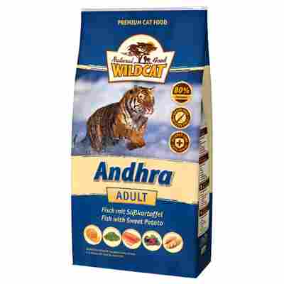 Katzentrockenfutter 'Andhra' Adult Fisch 500 g