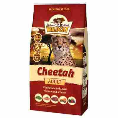 Katzentrockenfutter 'Cheetah' Adult Wildfleisch 500 g