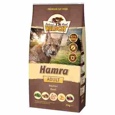 Katzentrockenfutter 'Hamra' Adult Wachtel 3000 g