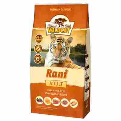 Katzentrockenfutter 'Rani' Adult Fasan und Ente 500 g