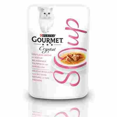 Soup 'Crystal' mit Thunfisch und Sardellen 40 g