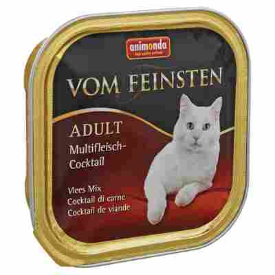 """Katzenfutter """"Vom Feinsten"""" Adult Multifleisch-Cocktail 100 g"""