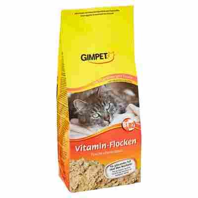 Katzentrockenfutter Vitaminflocken 200 g