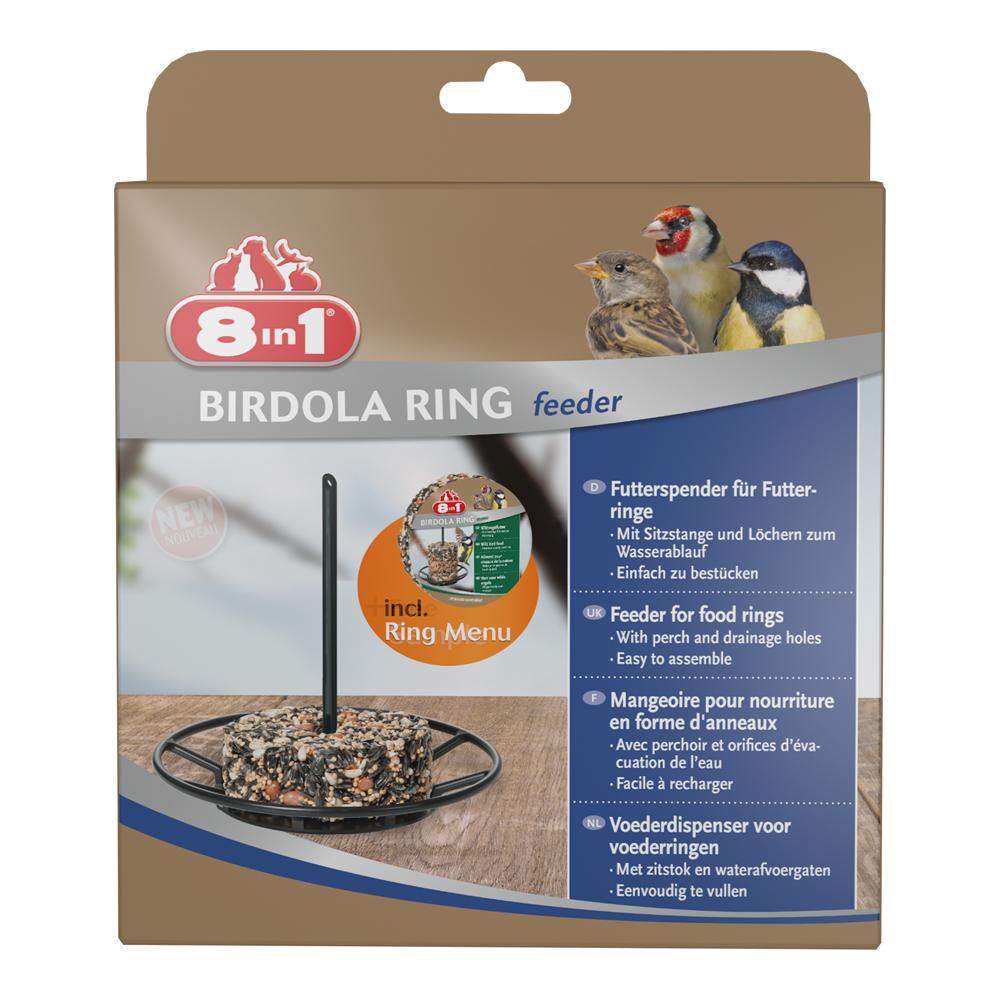 """vogelfutterspender birdola """"feeder"""" ring mit futtering 8in1 ǀ toom"""