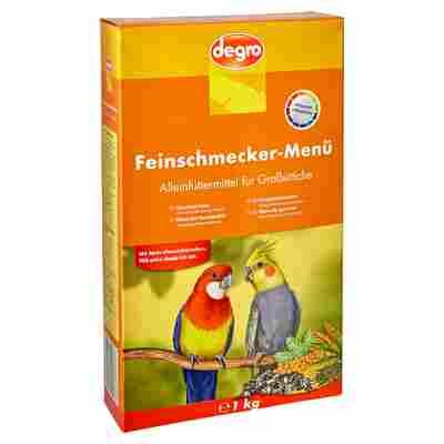 """Großsittichfutter """"Feinschmecker Menü"""" 1 kg"""