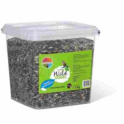 Wildvogelfutter Sonnenblumenkerne Eimer 2 kg