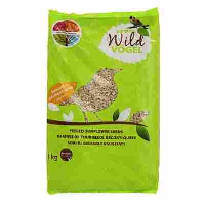 Wildvogelfutter Sonnenblumenkerne schalenlos 1 kg