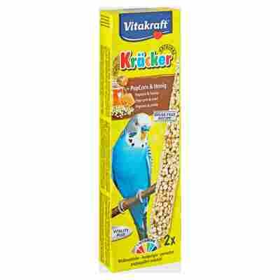 """Sittichfutter """"Kräcker® Original"""" PopCorn & Honig 45 g"""