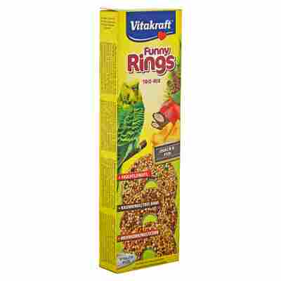 """Vogelfutter """"Funny Rings"""" Trio-Mix 3 Stück"""