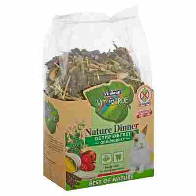 """Nagetierfutter """"Vita Verde"""" Nature Dinner Gemüsebeet für Zwergkaninchen 600 g"""