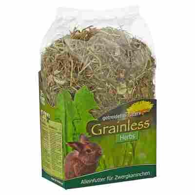 """Nagerfutter """"Grainless"""" Herbs 400 g Zwergkaninchen"""