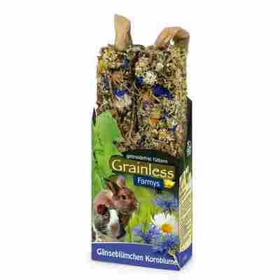 Nagersnack 'Grainless Farmys' Gänseblümchen-Kornblume 140 g