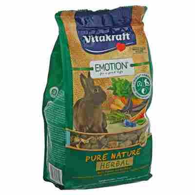 Kaninchenfutter Emotion® Pure Nature Herbal 600 g