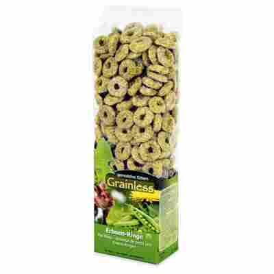 Nagersnack 'Grainless' Erbsen-Ringe 150 g