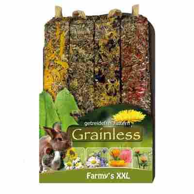 Nagersnack 'Grainless Farmys' XXL 4er-Pack 450 g