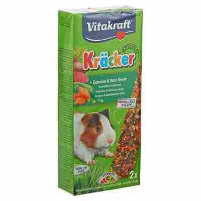 Meerschweinchenfutter Kräcker® Original Gemüse/Rote Beete 2 Stück