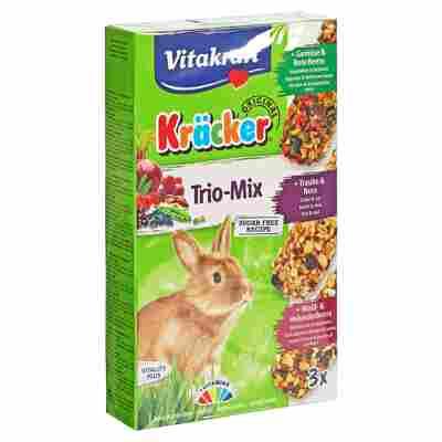 """Kaninchenfutter """"Kräcker® Original"""" Trio-Mix Gemüse/Rote Beete Traube/Nuss Wald-/Holunderbeere 168 g"""