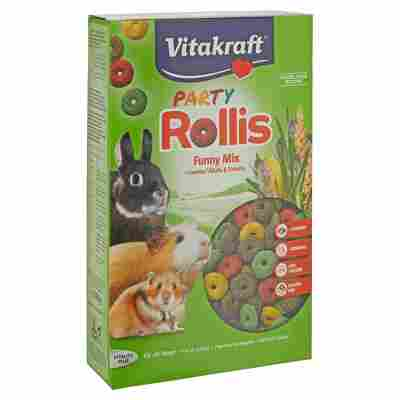 """Nagerfutter """"Party Rollis"""" Funny Mix 500 g"""