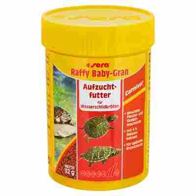 Reptilienfutter Wasserschildkröten Raffy Baby-Gran 32 g