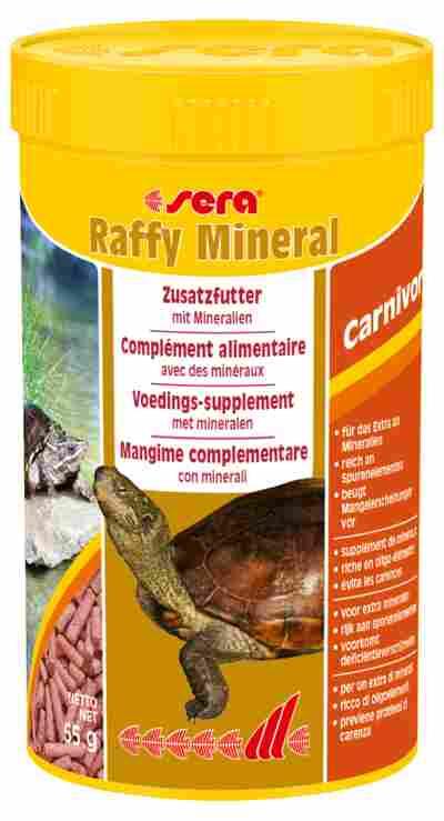"Reptilienfutter ""Raffy Mineral"" Zusatzfutter 0,055 kg"