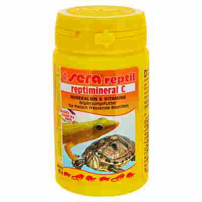 Reptimineral für pflanzenfressende Reptilien C 100 ml
