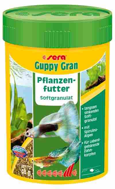 Fischfutter Guppy Gran 0,048 kg