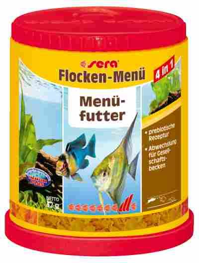 Fischfutter Flockenmenü 4in1 0,032 kg