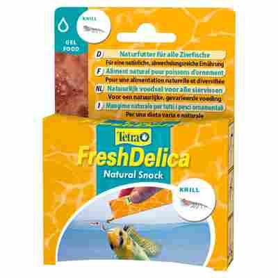 "Fischfutter ""Fresh Delica"" 48 g Natural Snack Krill"