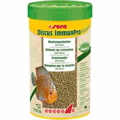 Zierfischfutter 'Discus ImmunPro' Nature 112 g (0,25 l)