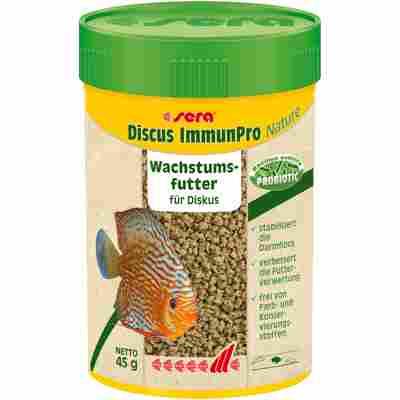 Zierfischfutter 'Discus ImmunPro' Nature 45 g (0,1 l)